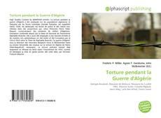 Portada del libro de Torture pendant la Guerre d'Algérie