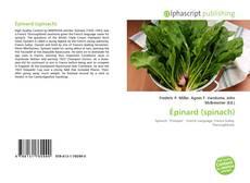 Épinard (spinach) kitap kapağı