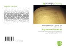 Bookcover of Argentine Literature