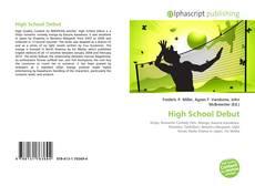 Bookcover of High School Debut