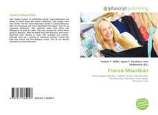 Buchcover von Franco-Mauritian