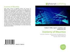 Buchcover von Economy of Mauritius