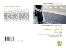 Portada del libro de National Legion of Decency