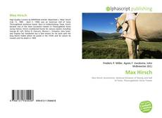 Bookcover of Max Hirsch