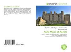 Bookcover of Anna Maria of Anhalt