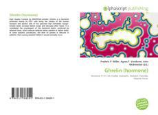 Portada del libro de Ghrelin (hormone)