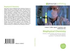 Bookcover of Biophysical Chemistry