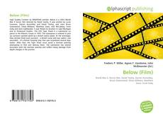 Bookcover of Below (Film)