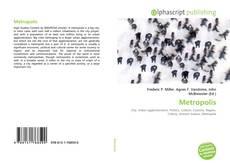 Capa do livro de Metropolis