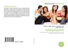 Bookcover of Closing Argument