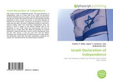 Bookcover of Israeli Declaration of Independence