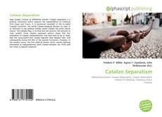 Catalan Separatism kitap kapağı