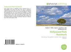 Bookcover of Hollywood Park Racetrack
