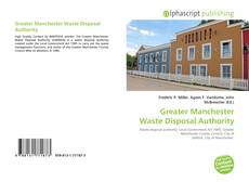 Bookcover of Greater Manchester Waste Disposal Authority