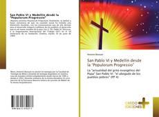 """Bookcover of San Pablo VI y Medellín desde la """"Populorum Progressio"""""""