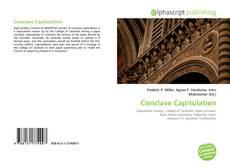 Couverture de Conclave Capitulation