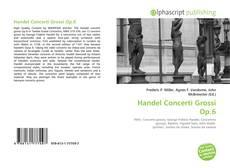Обложка Handel Concerti Grossi Op.6