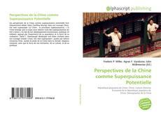Capa do livro de Perspectives de la Chine comme Superpuissance Potentielle