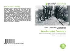 Couverture de Père Lachaise Cemetery