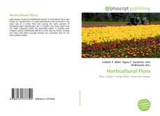 Bookcover of Horticultural Flora
