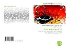 Copertina di Mark Anthony (DJ)