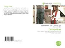 Bookcover of Champ Libre