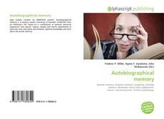 Buchcover von Autobiographical memory