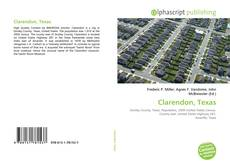 Bookcover of Clarendon, Texas