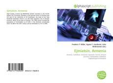 Capa do livro de Ejmiatsin, Armenia