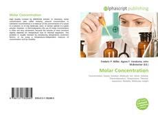 Buchcover von Molar Concentration