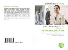 Copertina di Microsoft Comic Chat