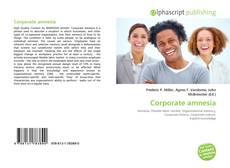 Capa do livro de Corporate amnesia
