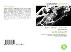 Bookcover of Judd (engine)