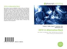 Couverture de 2010 in Alternative Rock