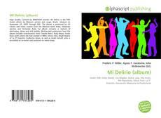 Buchcover von Mi Delirio (album)