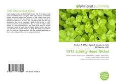 Capa do livro de 1913 Liberty Head Nickel