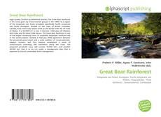 Обложка Great Bear Rainforest