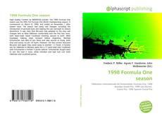 Capa do livro de 1998 Formula One season
