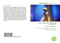 Copertina di UFO religion