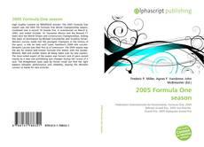 Capa do livro de 2005 Formula One season