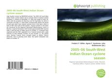 Bookcover of 2005–06 South-West Indian Ocean cyclone season