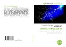 Capa do livro de CPU Power Dissipation