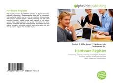 Borítókép a  Hardware Register - hoz