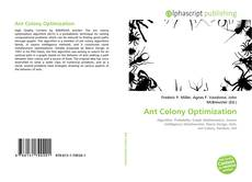 Bookcover of Ant Colony Optimization