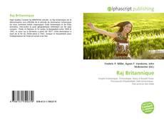 Capa do livro de Raj Britannique