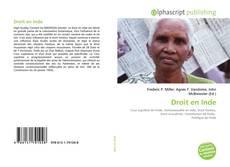 Bookcover of Droit en Inde