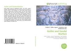 Bookcover of Gothic and Vandal Warfare
