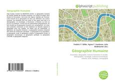 Bookcover of Géographie Humaine