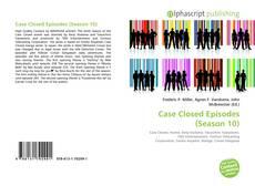 Portada del libro de Case Closed Episodes (Season 10)