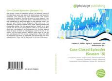 Capa do livro de Case Closed Episodes (Season 15)